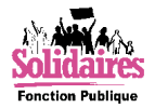 Logo Solidaires FP