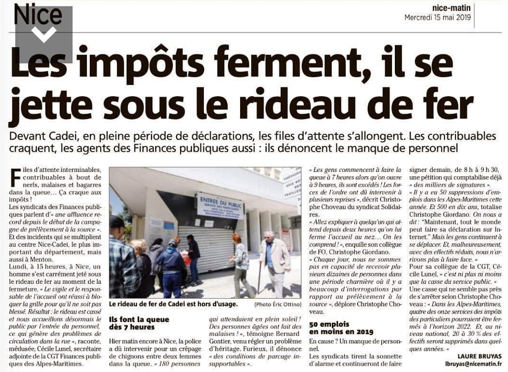 2019 05 15 réception cadeï article nice matin
